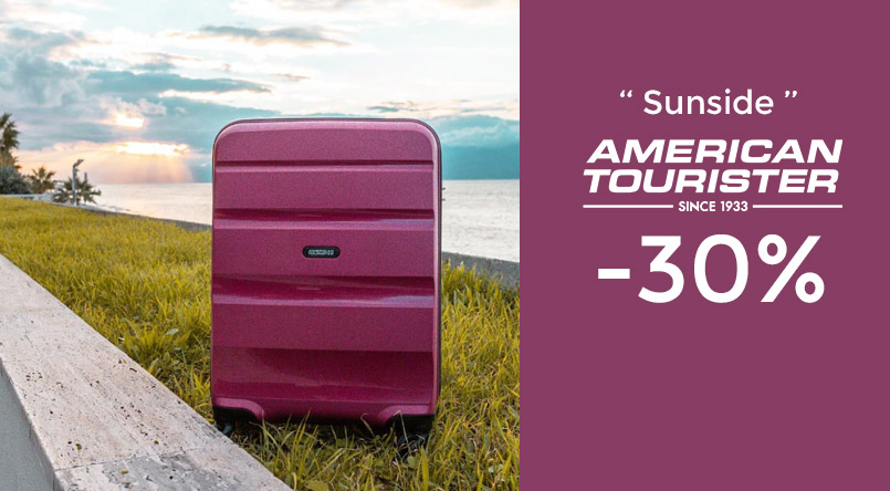 bagage american tourister promotion
