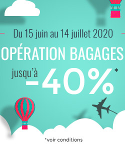 bagages promotion